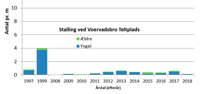 Stallingbestanden ved Voervadsbro siden 1997.